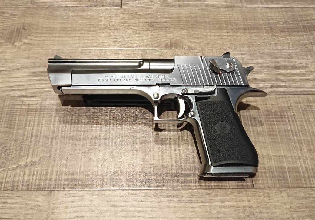 Desert Eagle.50AE stainless model